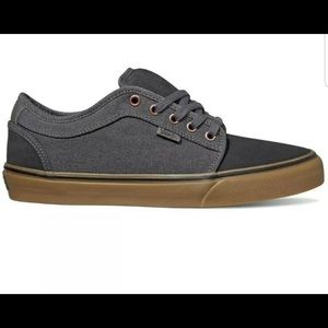 Vans Chukka Low Asphalt/Pewter Men's Skate Shoes
